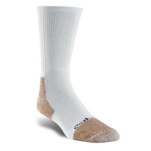 Carhartt All-Season Steel Toe Cotton Blend Work Sock/2 Pack A26300